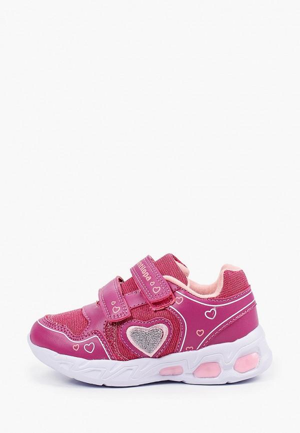 кроссовки antilopa для девочки, розовые
