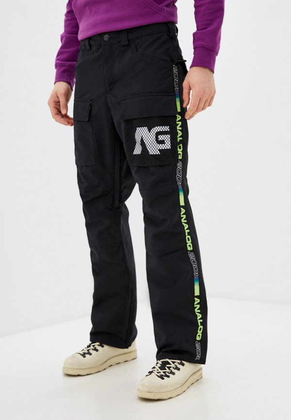 мужские брюки analog, черные
