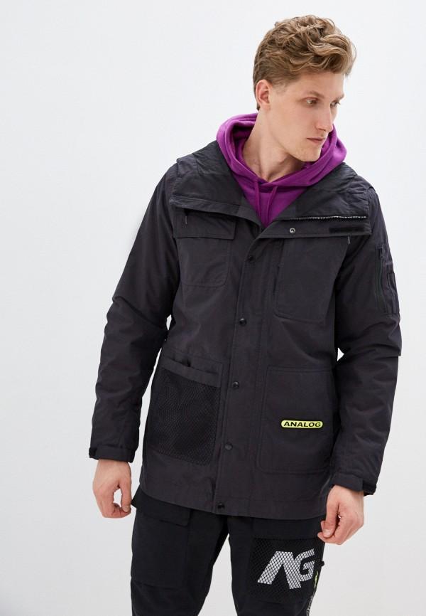 мужская куртка analog, черная