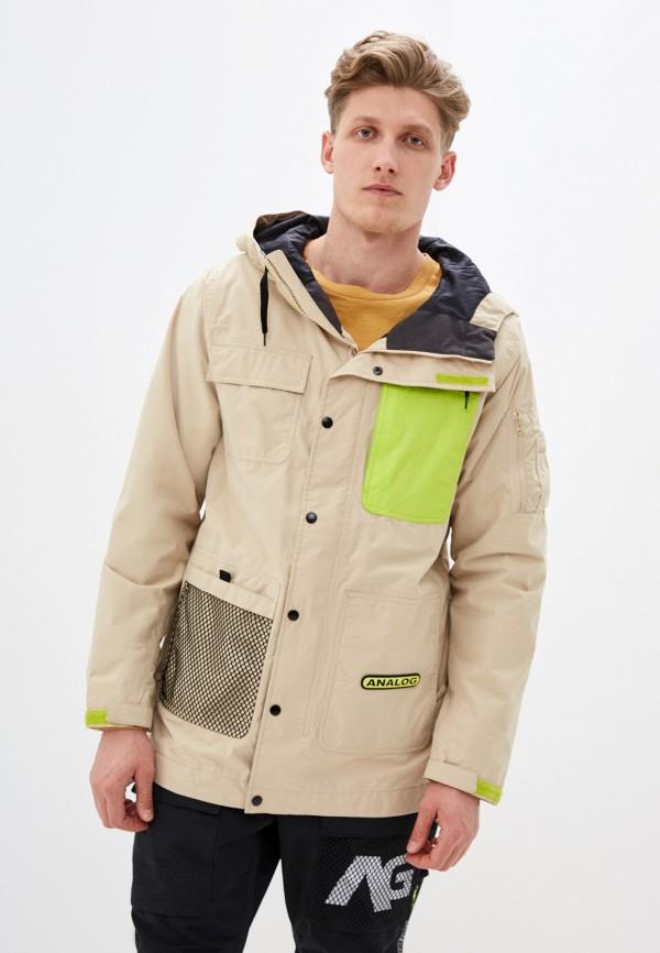 мужская куртка analog, бежевая