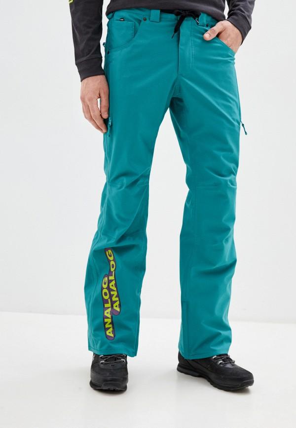 мужские брюки analog, бирюзовые