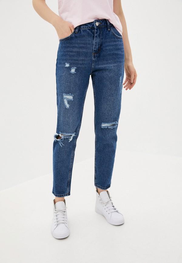 женские джинсы бойфренд angelica 2000, синие