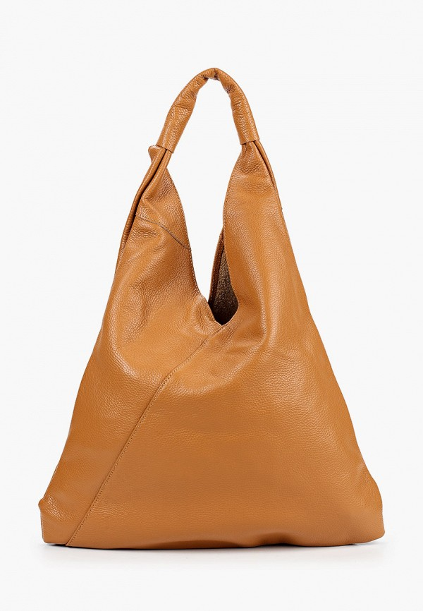 женская сумка anna luchini, коричневая
