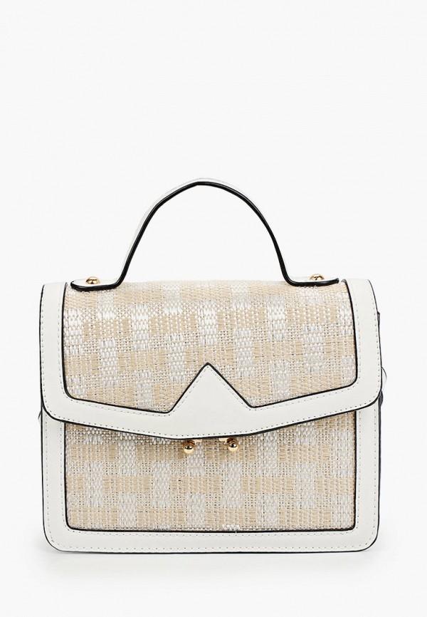 женская сумка anna luchini, бежевая