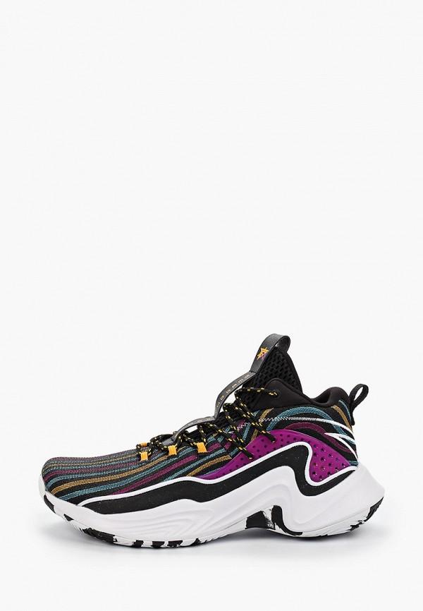 мужские низкие кроссовки anta, фиолетовые