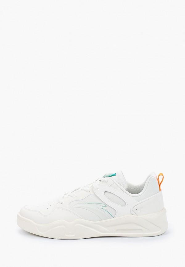 мужские низкие кроссовки anta, белые
