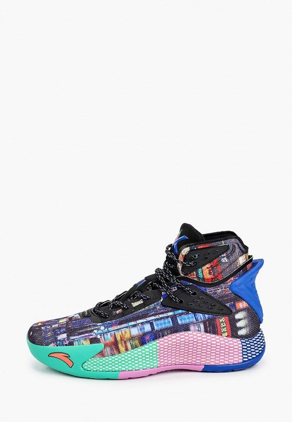 мужские кроссовки anta, разноцветные