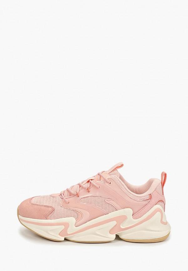 женские кроссовки anta, розовые