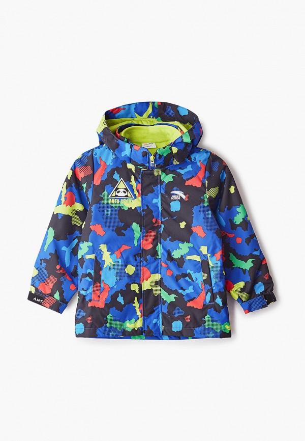 куртка anta для мальчика, синяя