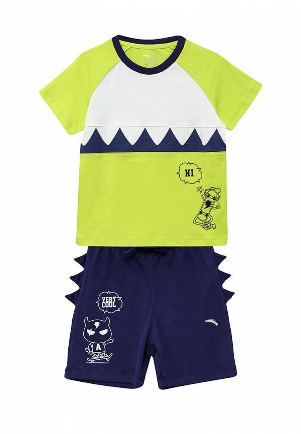 спортивные спортивный костюм anta для мальчика, разноцветный
