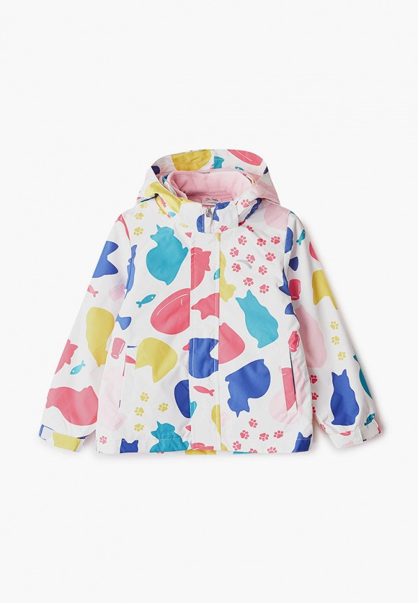 куртка anta для девочки, белая
