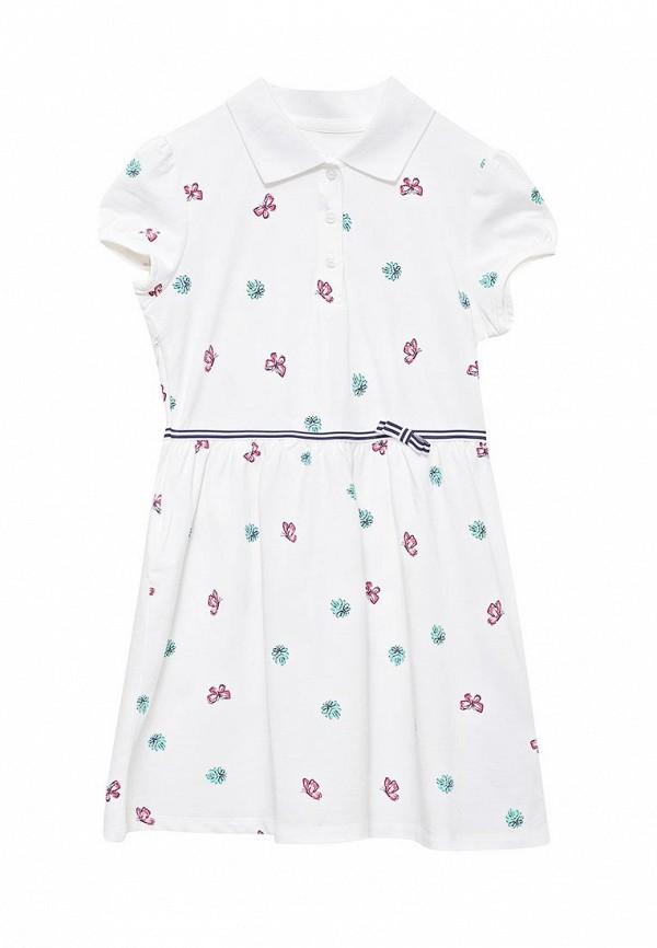 повседневные платье anta для девочки, белое