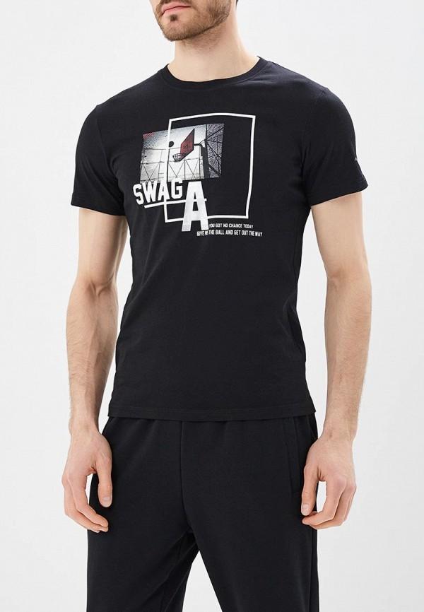 Купить мужскую футболку Anta черного цвета