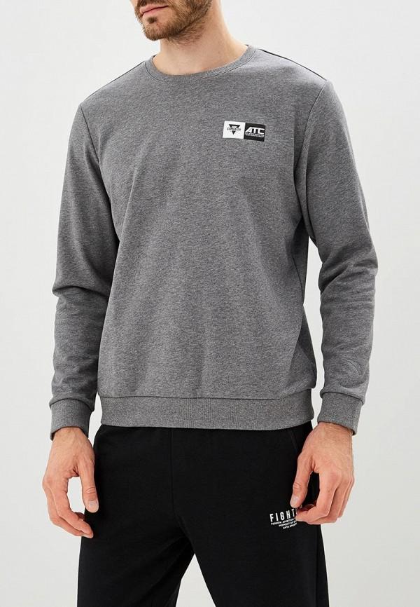 мужской свитшот anta, серый