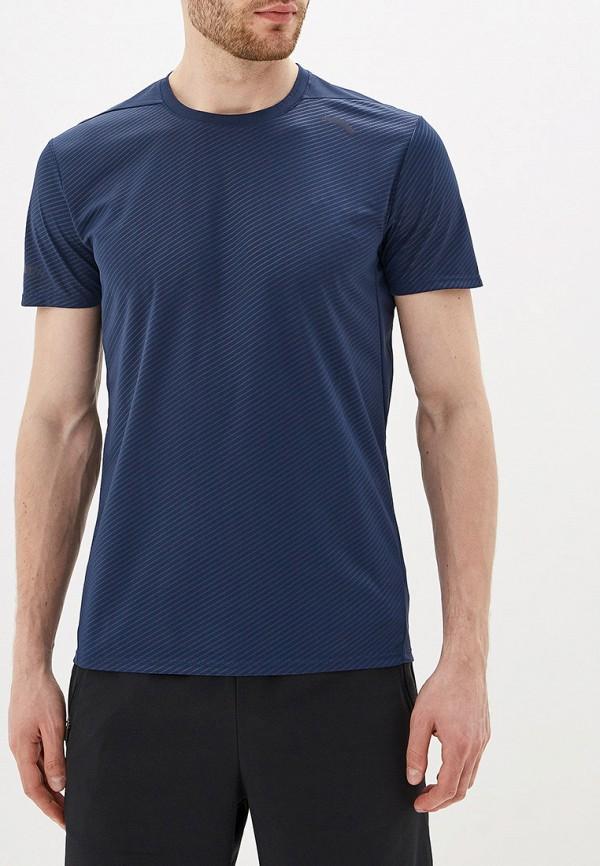 мужская футболка anta, синяя