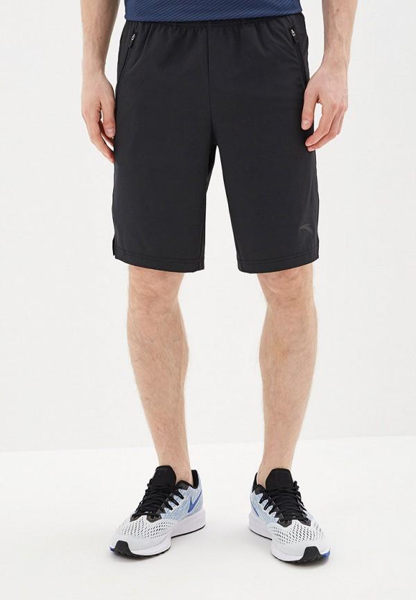 мужские спортивные шорты anta, черные