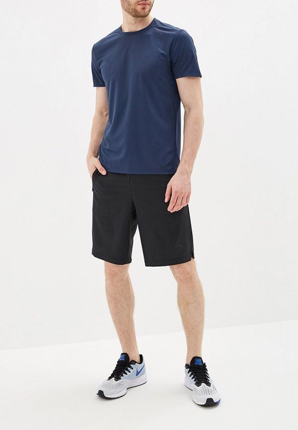Фото 2 - мужские шорты Anta черного цвета