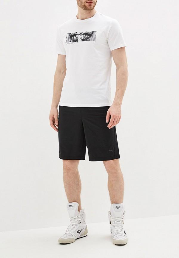 Фото 2 - мужскую футболку Anta белого цвета