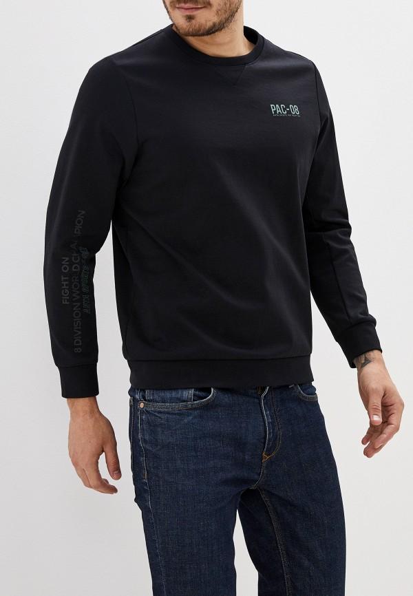 мужской свитшот anta, черный