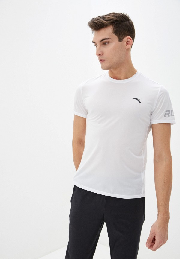 мужская футболка anta, белая