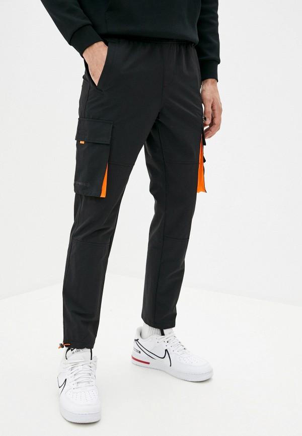 мужские брюки anta, черные