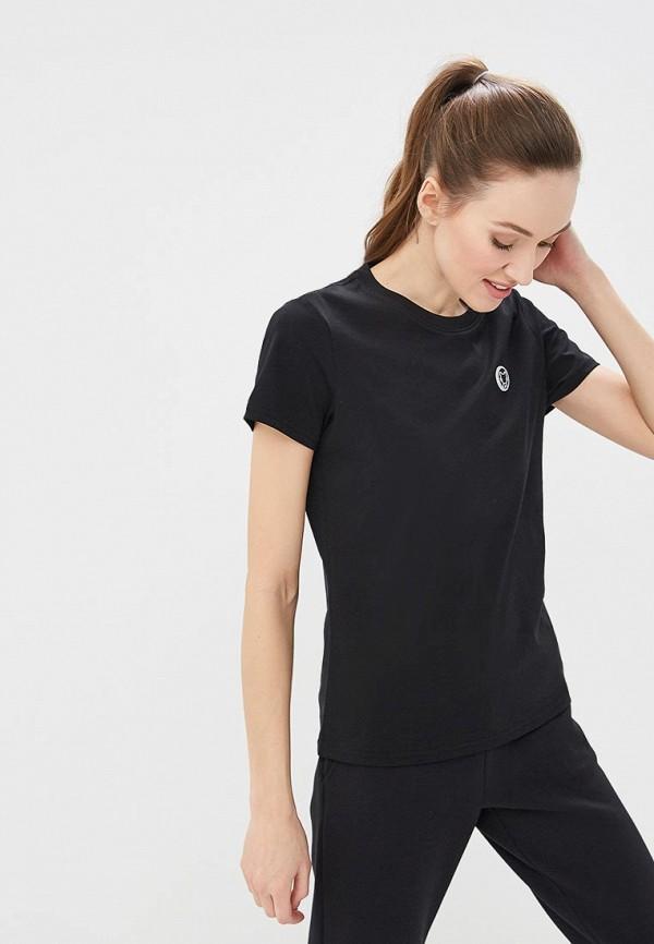 женская футболка anta, черная