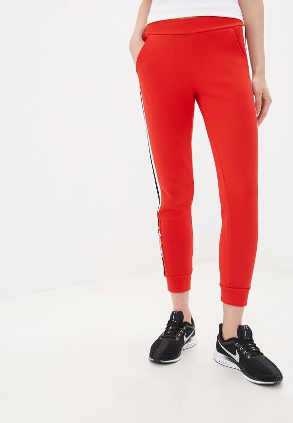 женские спортивные спортивные брюки anta, красные