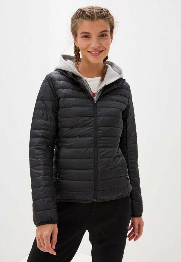 женская куртка anta, черная