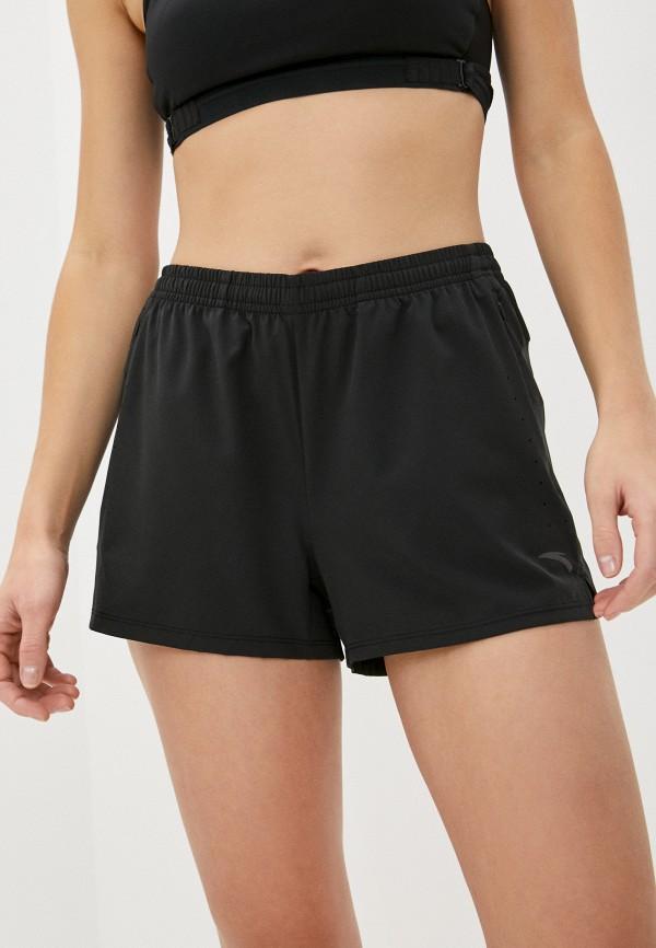 женские спортивные шорты anta, черные
