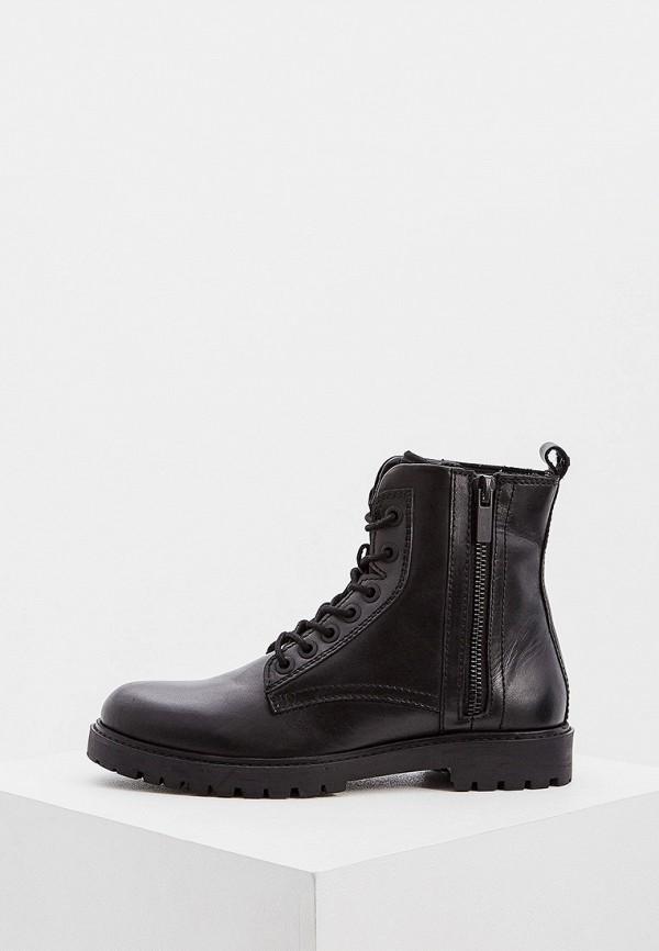 мужские высокие ботинки antony morato, черные
