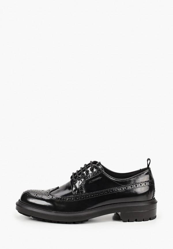 мужские туфли-дерби antony morato, черные