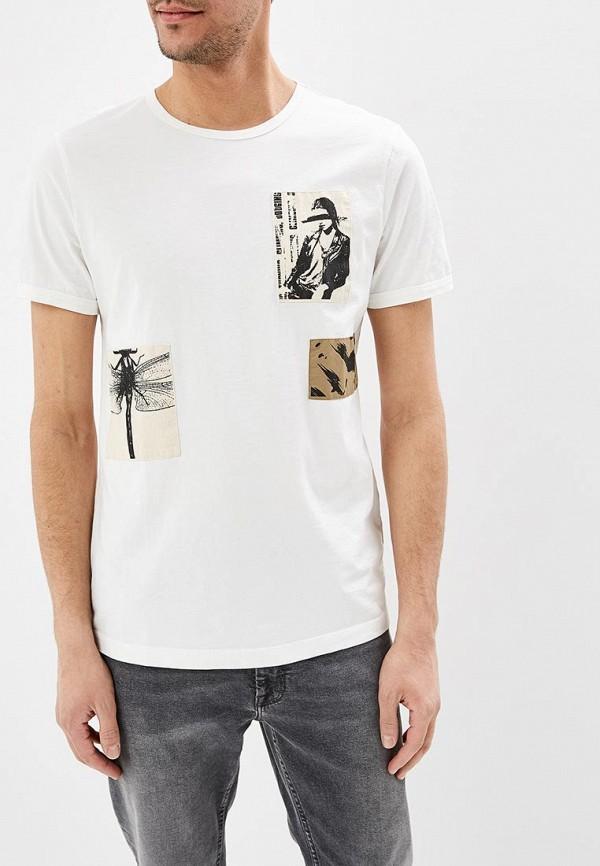 мужская футболка с коротким рукавом antony morato, белая