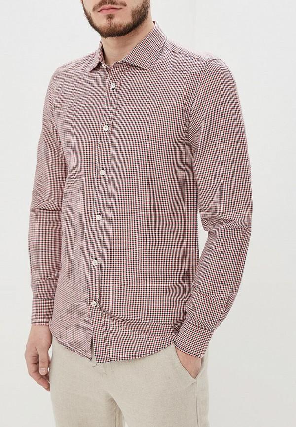 мужская рубашка с длинным рукавом antony morato, бордовая