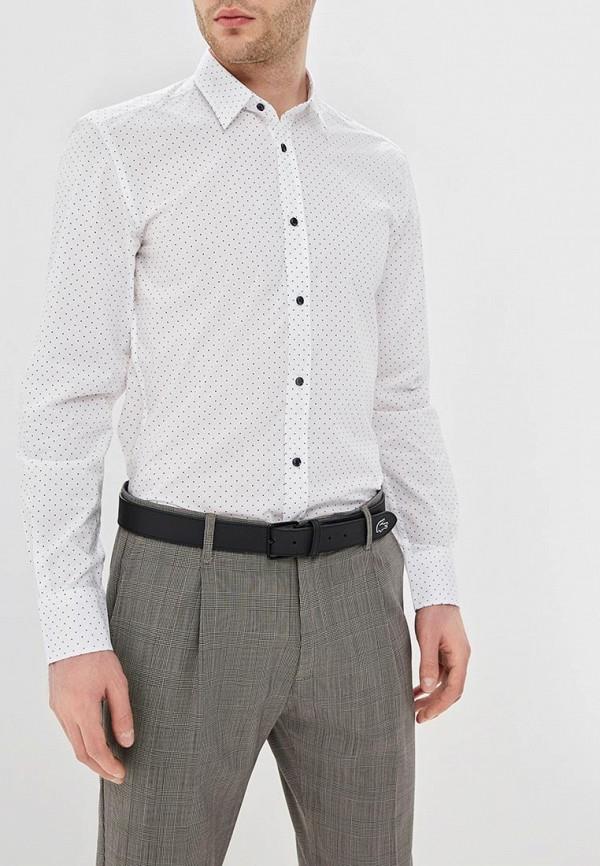 мужская рубашка с длинным рукавом antony morato, белая