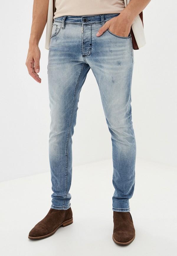 мужские джинсы antony morato, голубые