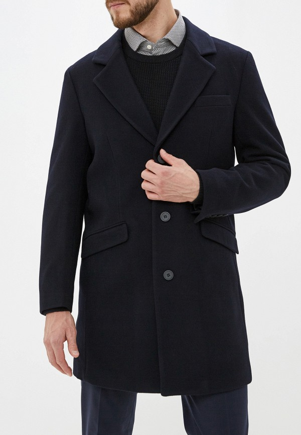 мужское пальто antony morato, синее