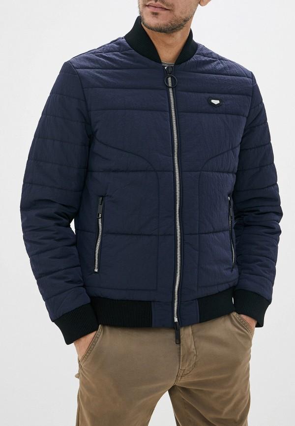 мужская куртка antony morato, синяя