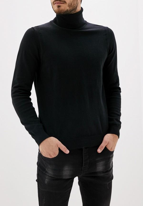 мужская водолазка antony morato, черная