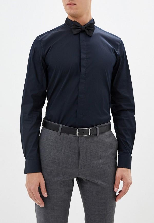 мужская рубашка с длинным рукавом antony morato, синяя