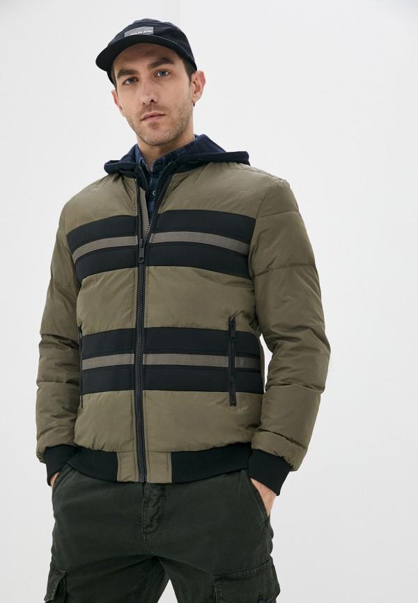 мужская куртка antony morato, хаки