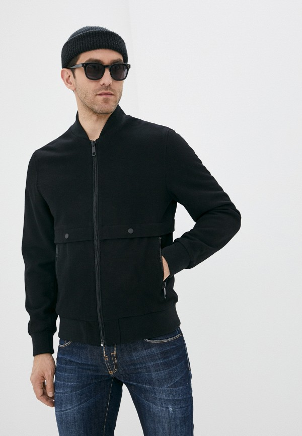 мужская куртка antony morato, черная