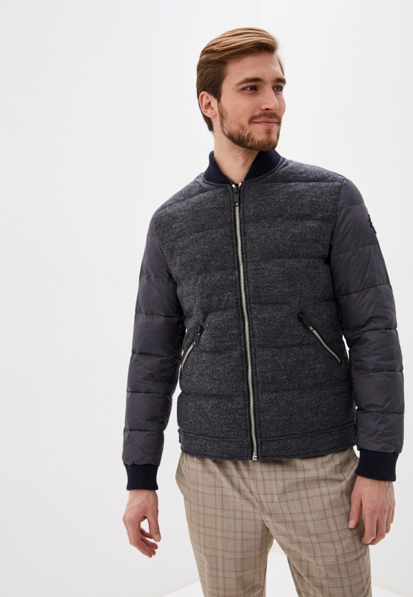 мужская куртка antony morato, серая