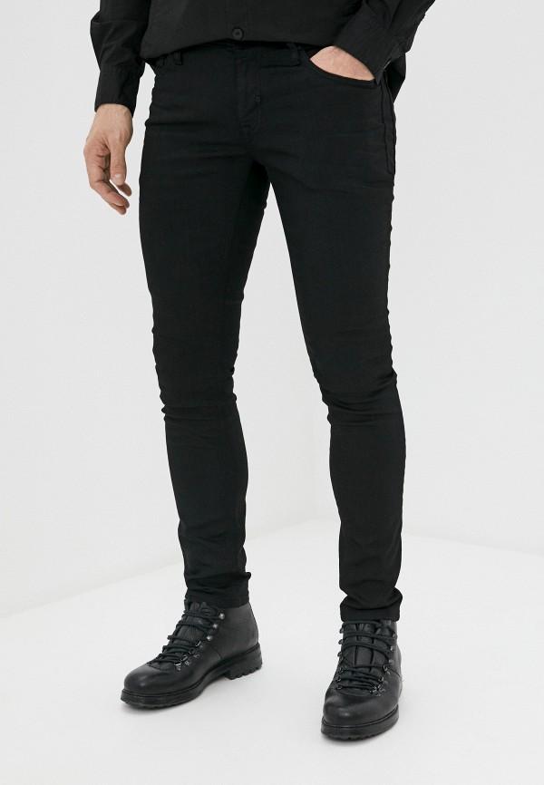 мужские зауженные джинсы antony morato, черные