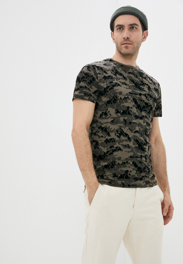 мужская футболка с коротким рукавом antony morato, разноцветная