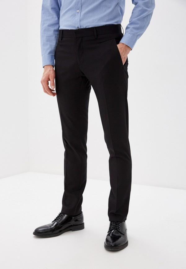 мужские зауженные брюки antony morato, черные