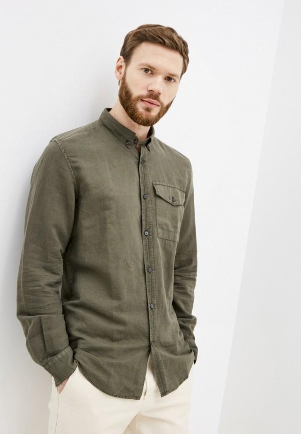 мужская рубашка с длинным рукавом antony morato, хаки