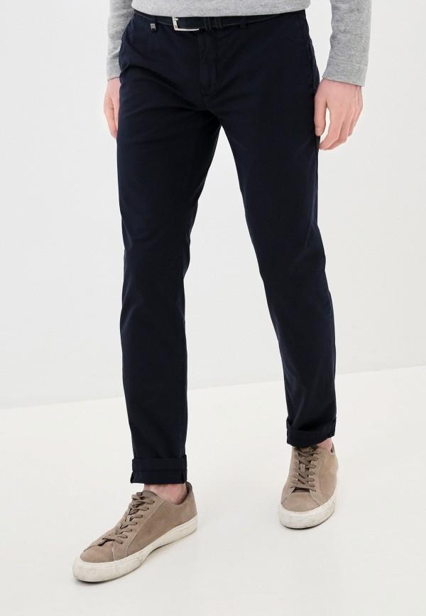 мужские зауженные брюки antony morato, синие