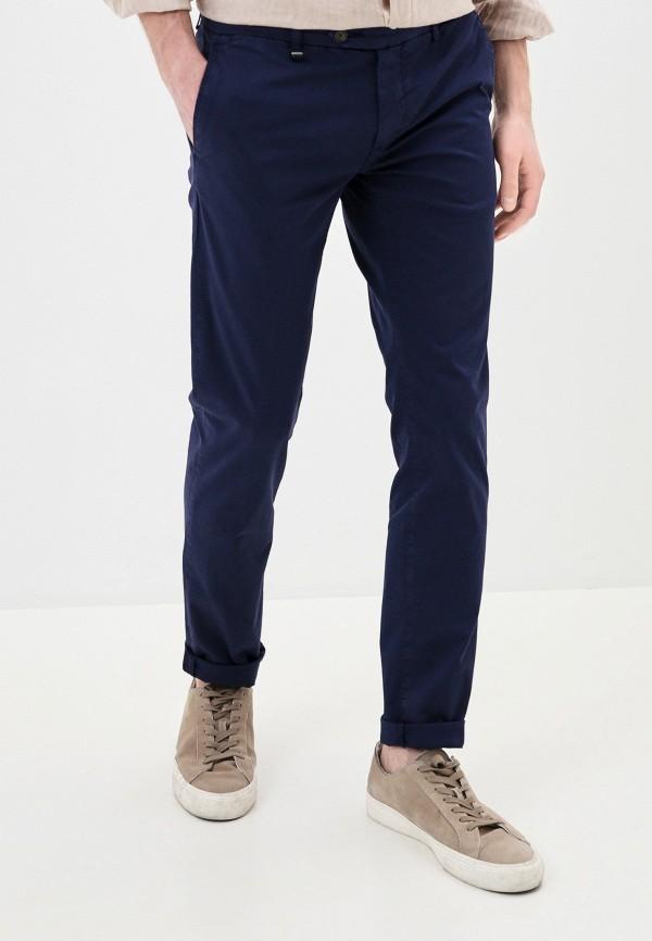 мужские прямые брюки antony morato, синие
