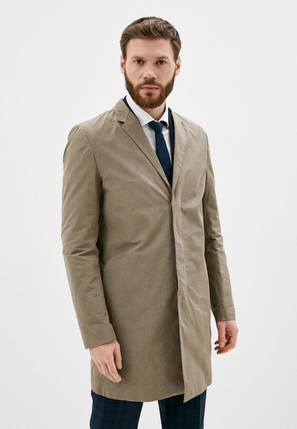 мужское пальто antony morato, бежевое
