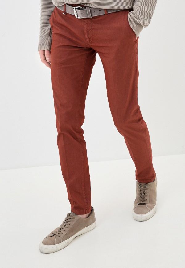 мужские повседневные брюки antony morato, коричневые